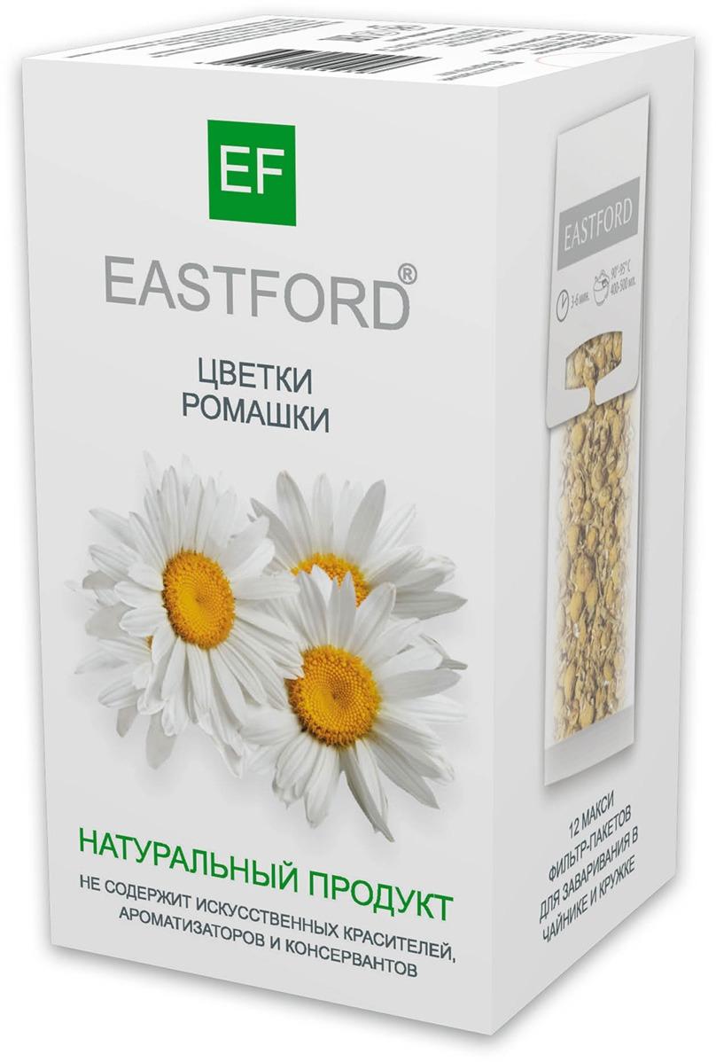 Чайный напиток EASTFORD цветы ромашки, 12 макси фильтр-пакетиков по 18 г алтэя чайный напиток травяной чай лесной 80 г