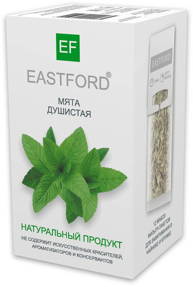 Чайный напиток EASTFORD мята душистая, 12 макси фильтр-пакетиков по 12 г imperial tea beauty fitness напиток чайный 100 г