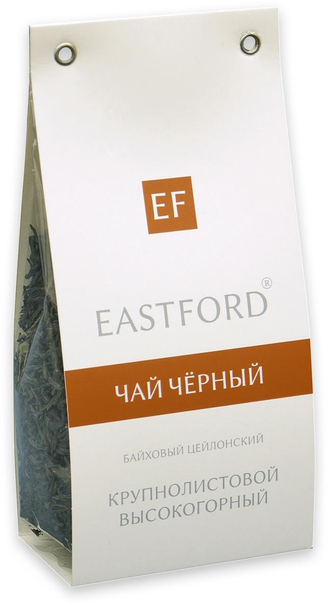 Чай черный EASTFORD байховый цейлонский крупнолистовой высокогорный, 100 гбап011Тонкий аромат и благородный вкус цейлонского чая, выращенного на высокогорных плантациях, идеальный для чаепития. Качественный чай для истинных ценителей.