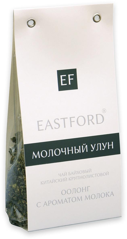 Чай EASTFORD Молочный улун байховый китайский крупнолистовой, 100 г чай зеленый eastford молочный улун байховый китайский крупнолистовой с ароматом сливок 12 макси фильтр пакетиков по 48 г