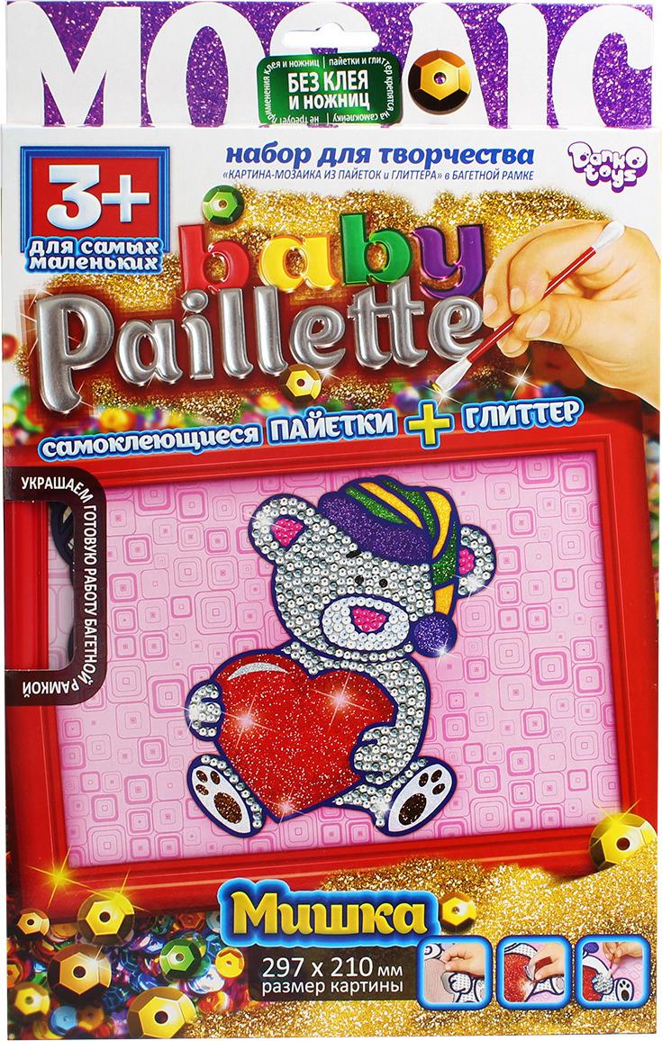 "Набор для творчества Danko Toys ""Baby Paillette. Медвежонок"""