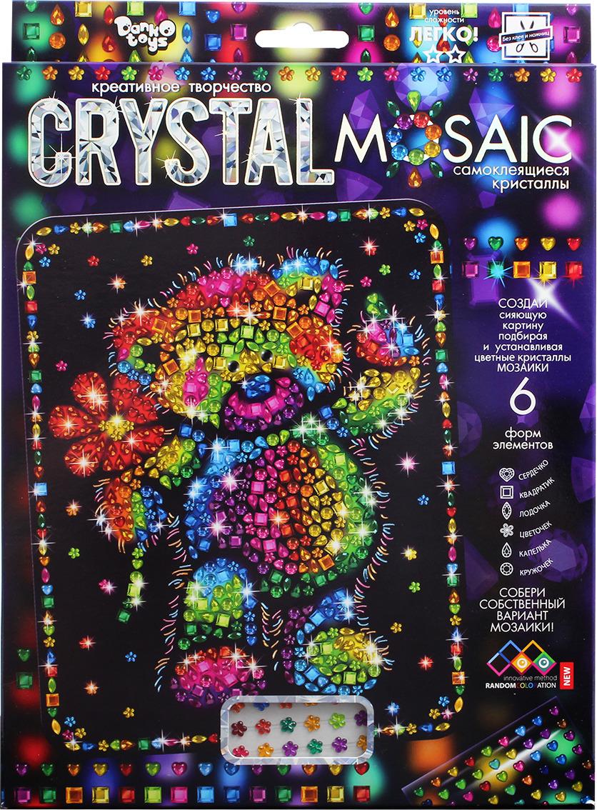 "Набор для создания мозаики Danko Toys ""Crystal Mosaic. Набор 5. Мишка"""
