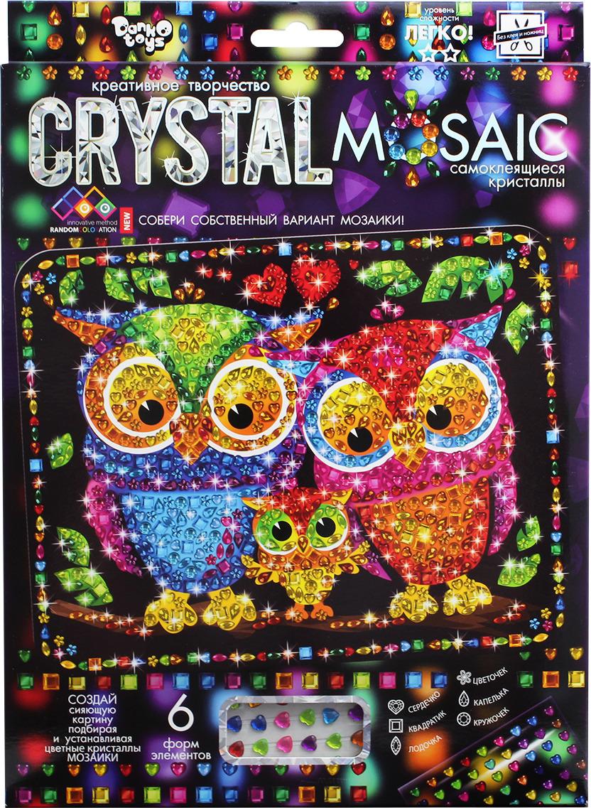 """Набор для создания мозаики Danko Toys """"Crystal Mosaic. Набор 7. Совы"""""""