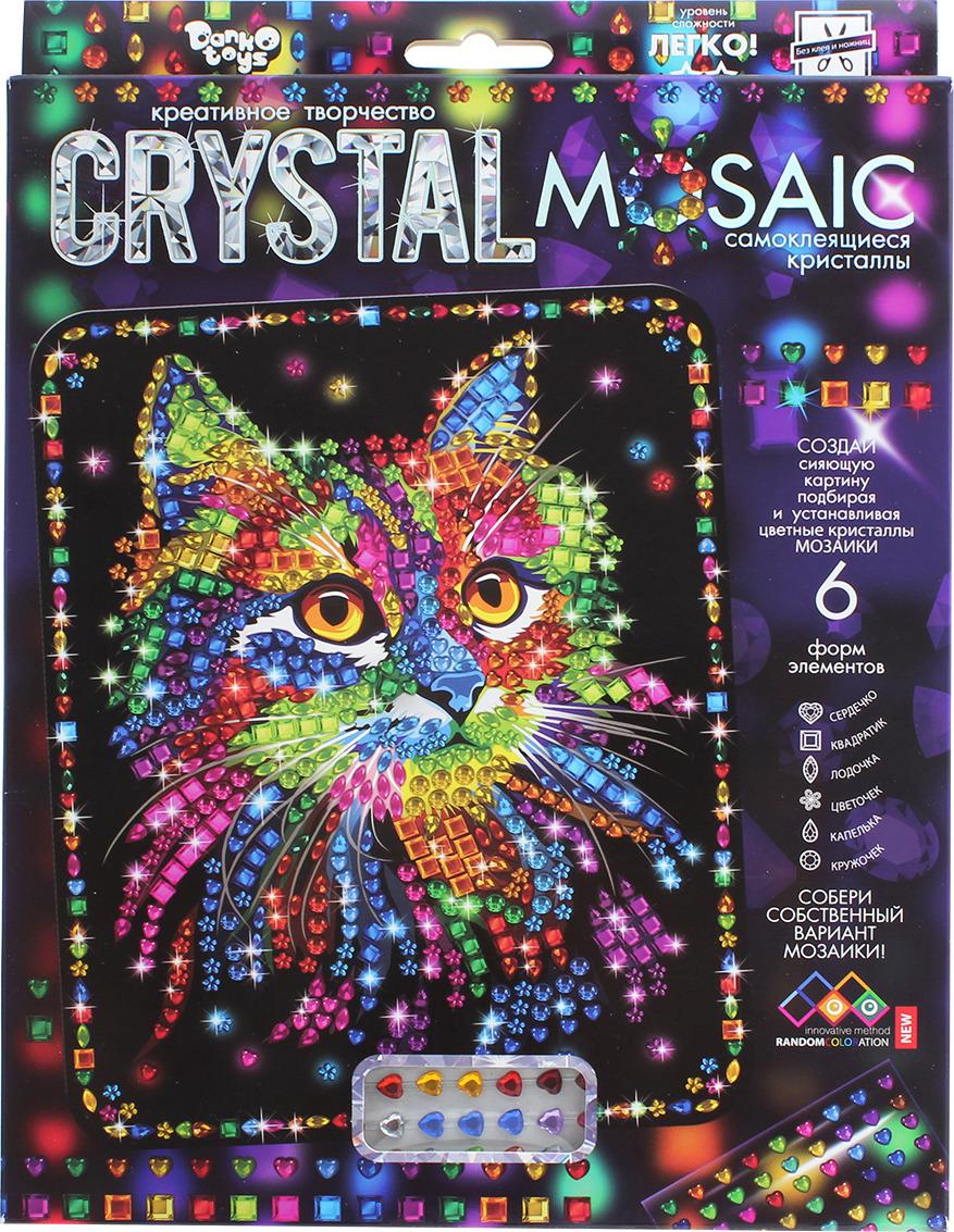 """Набор для создания мозаики Danko Toys """"Crystal Mosaic. Набор 2. Кот"""""""