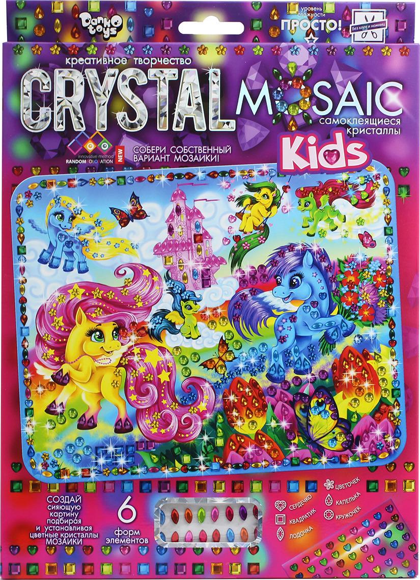 "Набор для создания мозаики Danko Toys ""Crystal Mosaic. KIDs. Набор 1. Пони"""