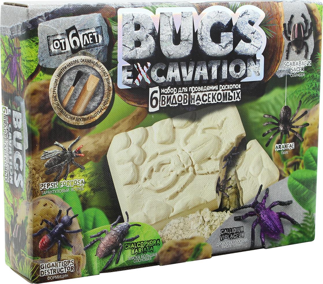 Набор для раскопок Danko Toys Bugs Excavation. Жуки. Набор 1 набор для раскопок danko toys bugs excavation жуки набор 4