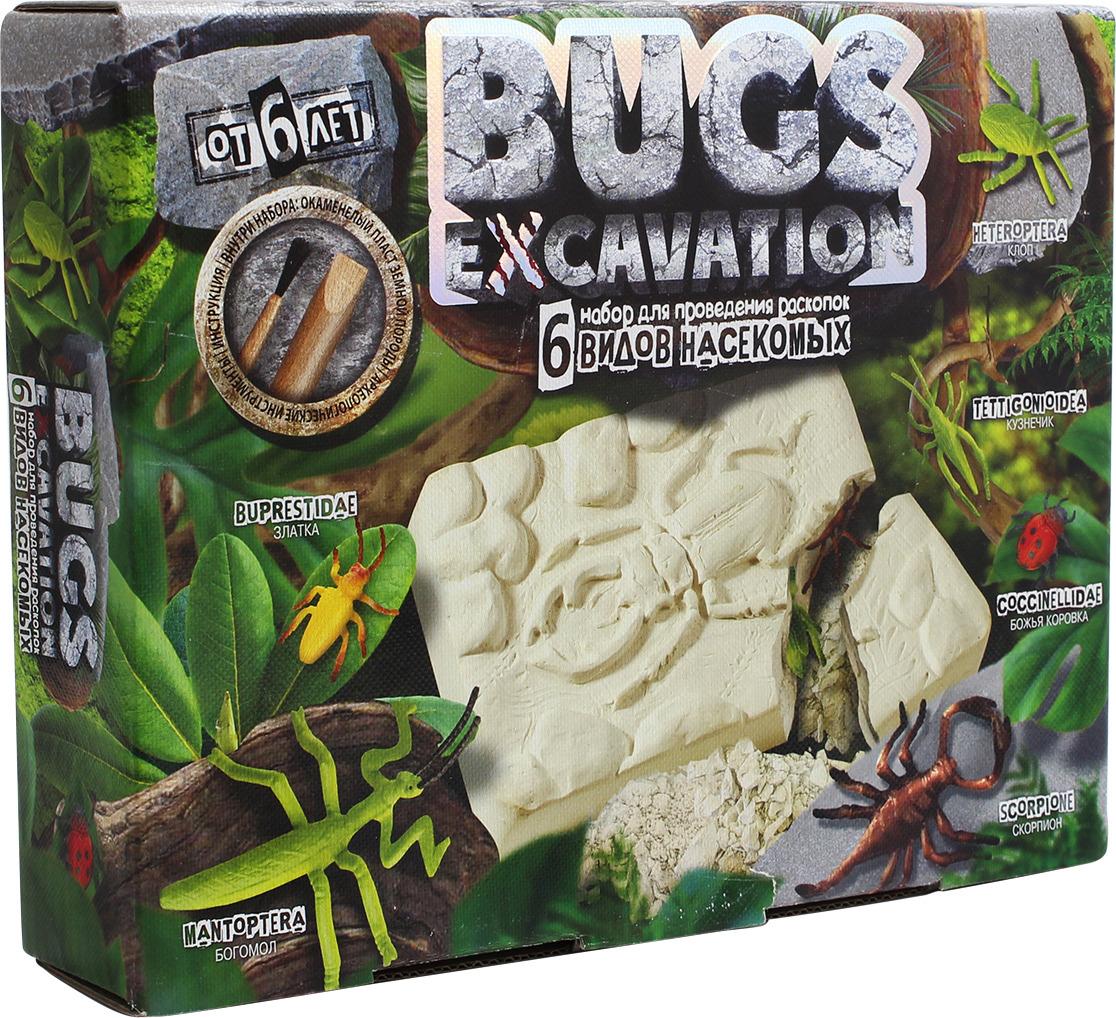 Набор для раскопок Danko Toys Bugs Excavation. Жуки. Набор 4 набор для раскопок danko toys bugs excavation жуки набор 4