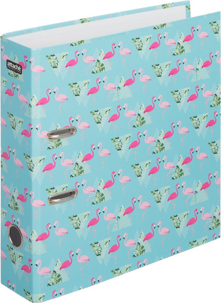 Папка-регистратор Attache Selection Flamingo, цвет: мультиколор, А4 карандаш attache