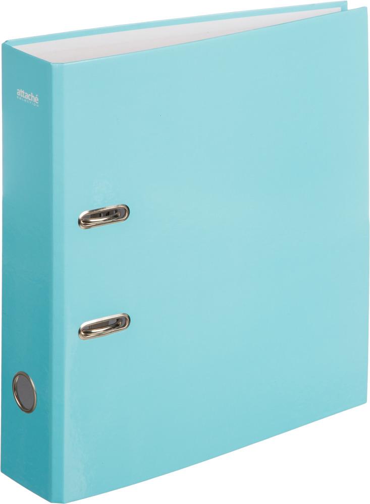 Папка-регистратор Attache Selection Flamingo, цвет: голубой, А4 карандаш attache