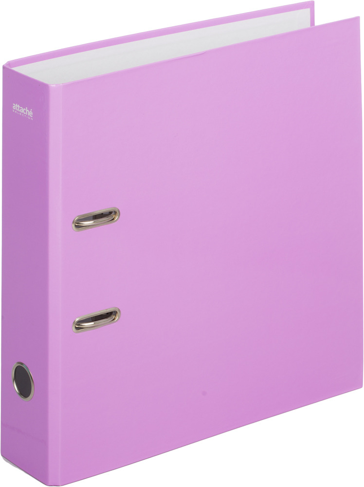 Папка-регистратор Attache Selection Crocus, цвет: сиреневый, А4 карандаш attache