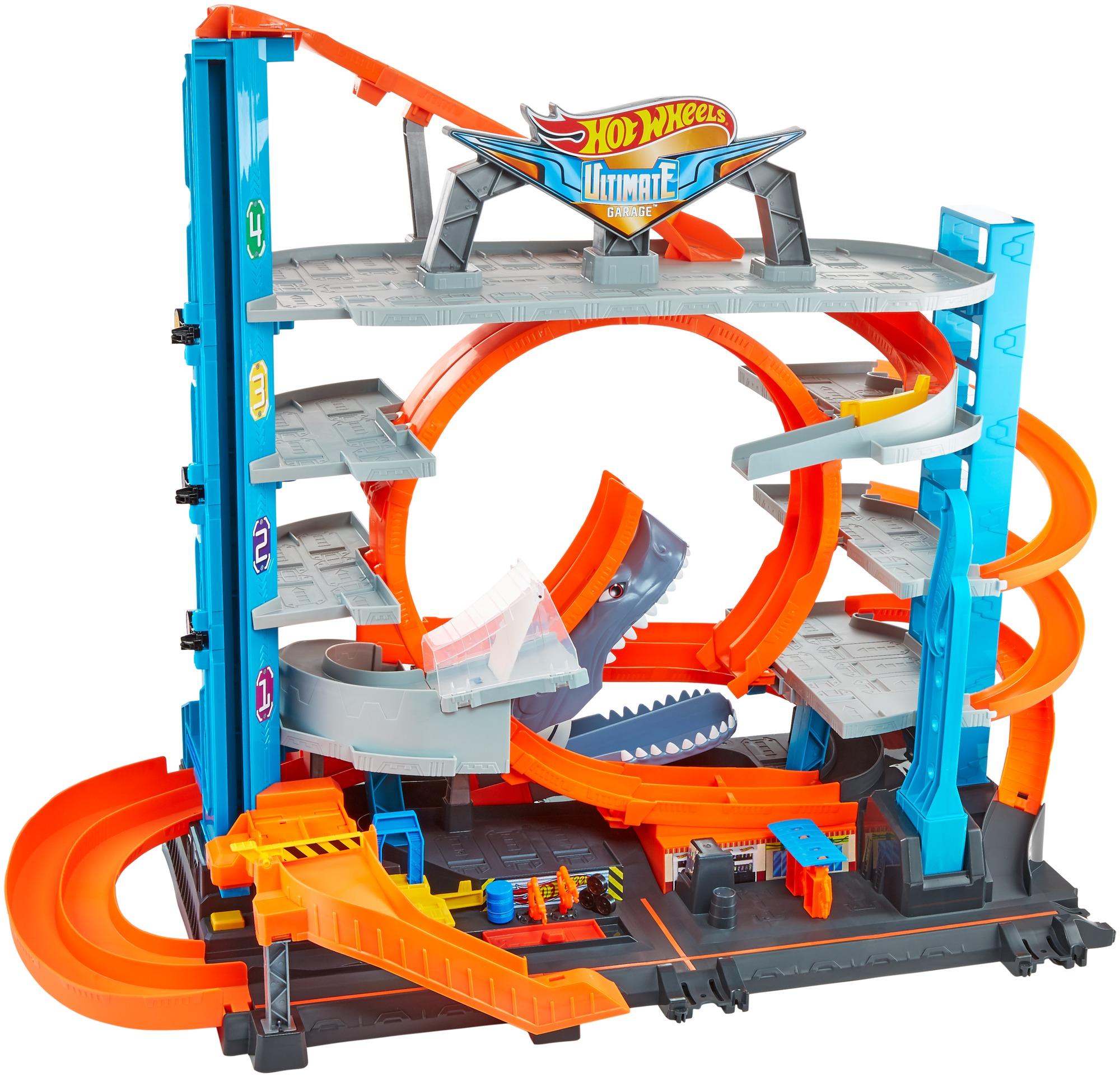 Парковка Hot Wheels Сити Невообразимый гараж, FTB69 hot wheels гараж разноцветный