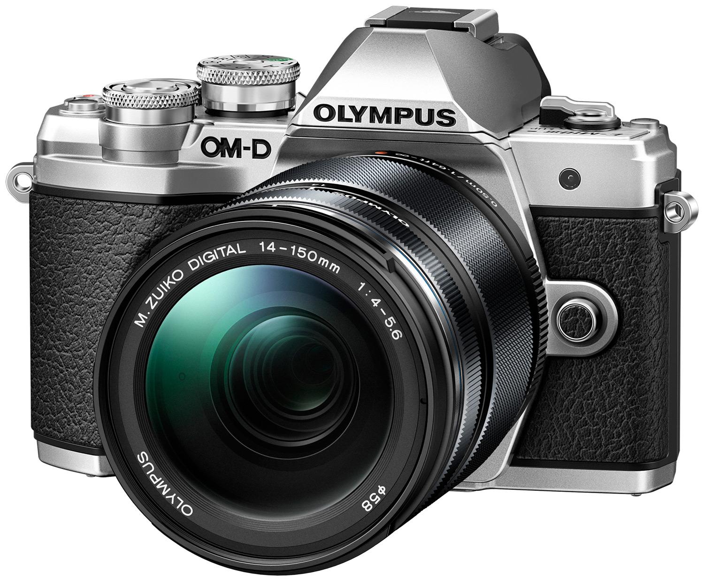 Беззеркальный фотоаппарат Olympus E-M10 Mark III, Silver + объектив M.ZUIKO DIGITAL ED 14-150mm 1:4-5.6 II, Silver, V207070SE010