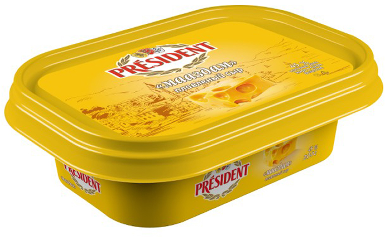 President Сыр Мааздам плавленый 45%, 200 г president сыр с пряными травами плавленый 45% 200 г
