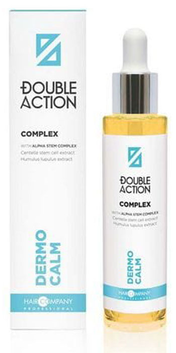Hair Company Комплекс против выпадения волос Double Action No Loss Revitalising Complex 50 мл цена