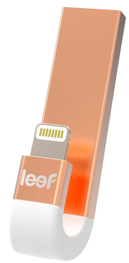 Флэш-драйв Leef iBridge3, 32GB, Pink Gold флэш драйв leef ibridge3 32gb pink gold