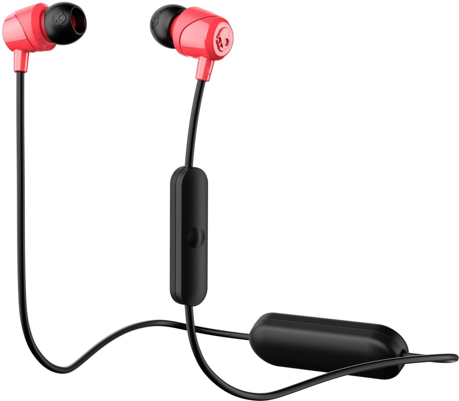 Беспроводные наушники Skullcandy Jib Wireless, черный, красный наушники skullcandy jib pink