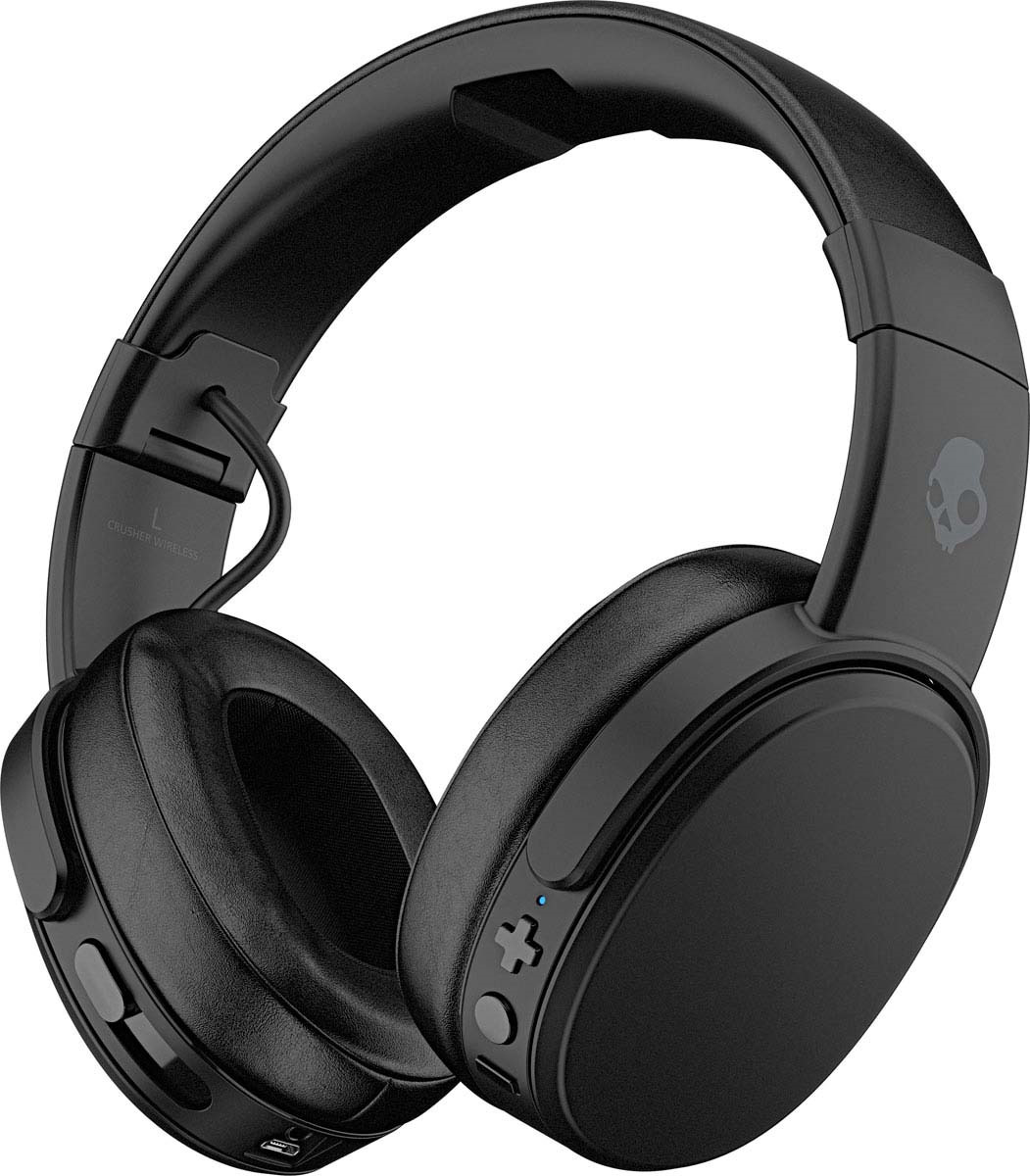 Фото - Беспроводные наушники Skullcandy Crusher Wireless, черный наушники skullcandy stim s2lhy k569 синий