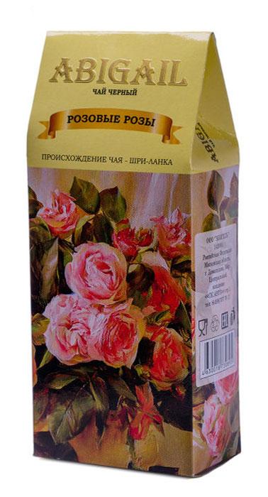 Чай черный индийский ABIGAIL Розовые розы, 85 г