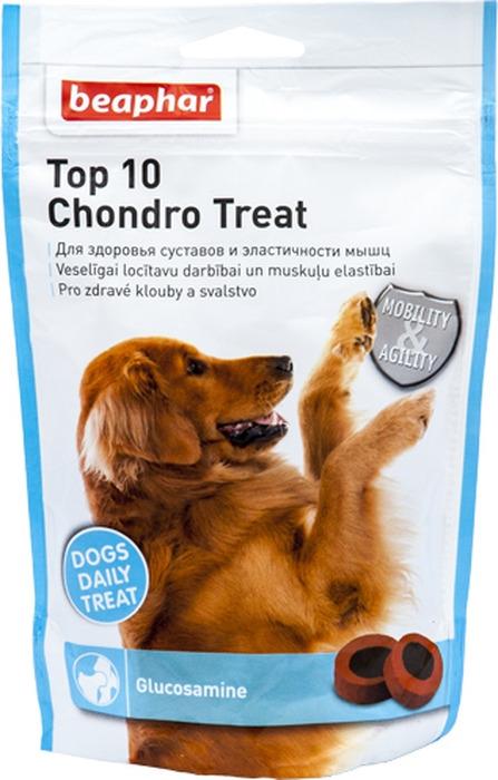 Витамины для собак Beaphar Top 10 Chondro Treat, с глюкозамином, 150 г orthomol osteo витамины и минералы для укрепления костей 30 порций
