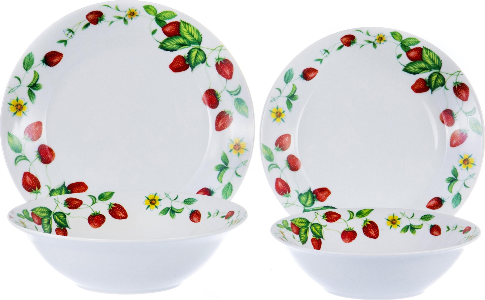 Набор столовой посуды Olaff Феникс, 103-02021, разноцветный, 19 предметов набор столовой посуды olaff красные цветы 19 предметов