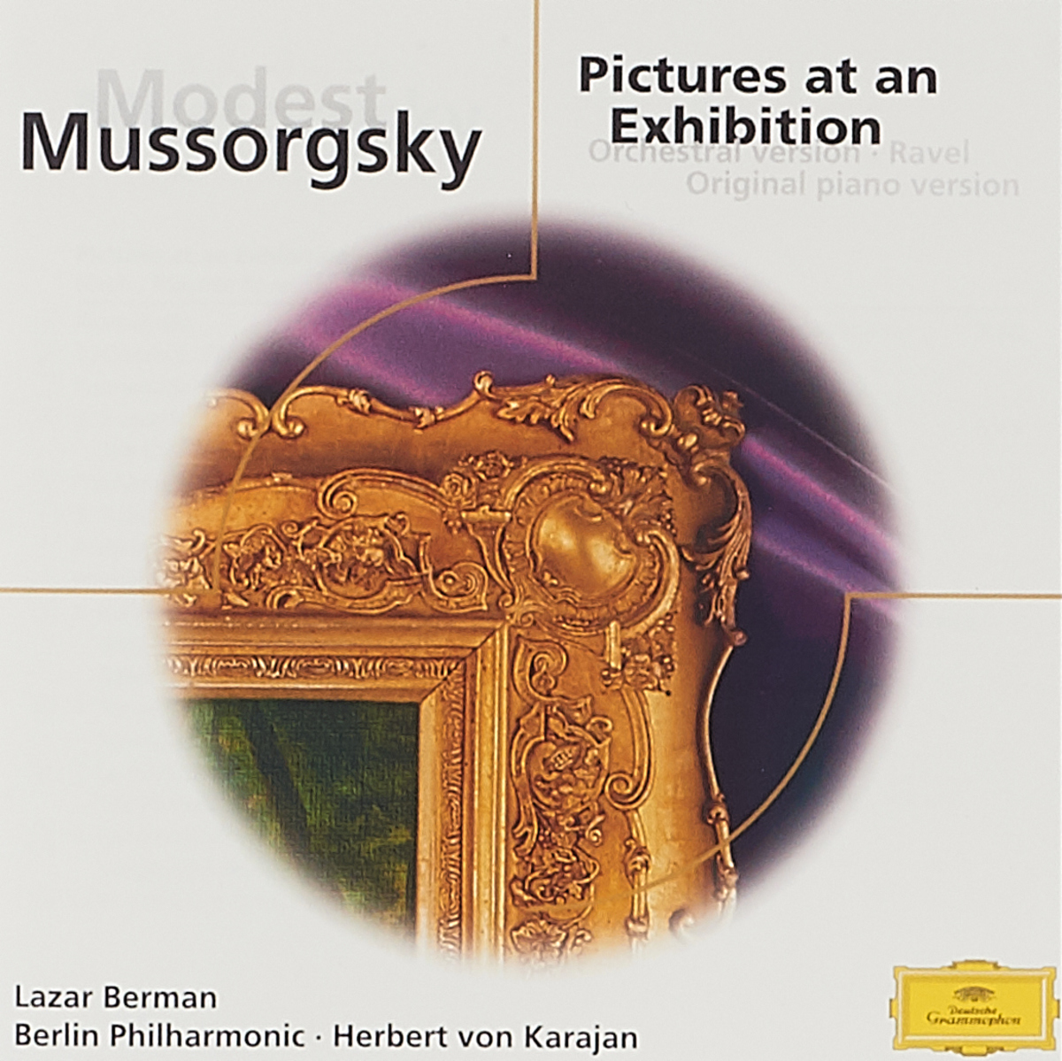 Lazar Berman. Modest Mussorgsky: Pictures at an Exhibition lazar khidekel and suprematism