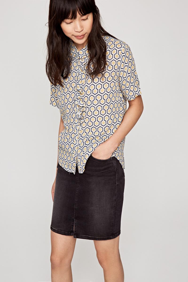 Блузка Pepe Jeans Belinda блузка женская pepe jeans цвет синий 097 pl303141 551 размер l 48 50