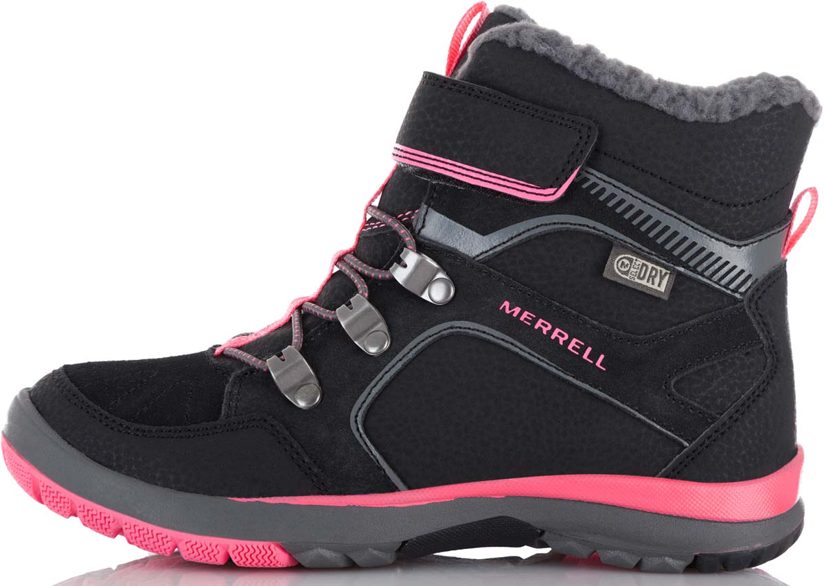 Ботинки Merrell ботинки для девочки merrell m moab fst polar mid a c wtrpf цвет черный розовый mk159178 размер 13 30