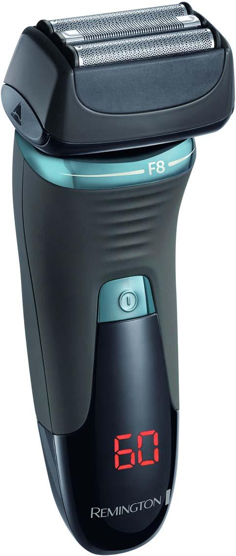 Бритва сеточная Remington XF8705 Ultimate Series F8XF8705Система Hybrid Intercept захватывает и состригает длинные, низколежащие волоски. Плавающие сетки LiftLogic. Ультра-точные лезвия AccuCut. Плавающий блок PivotAssist Plus и технология повторения контуров лица ConstantContour. Литиевый аккумулятор, до 60 минут время работы. Полная зарядка за 90 минут. Быстрая зарядка за 5 минут. LED дисплей с индикацией заряда. Откидной триммер. Универсальное напряжение. 2 года гарантии. Беспроводная. 100% водонепроницаемая. Система блокировки. Стакан для зарядки и чехол. Рекомендуем!