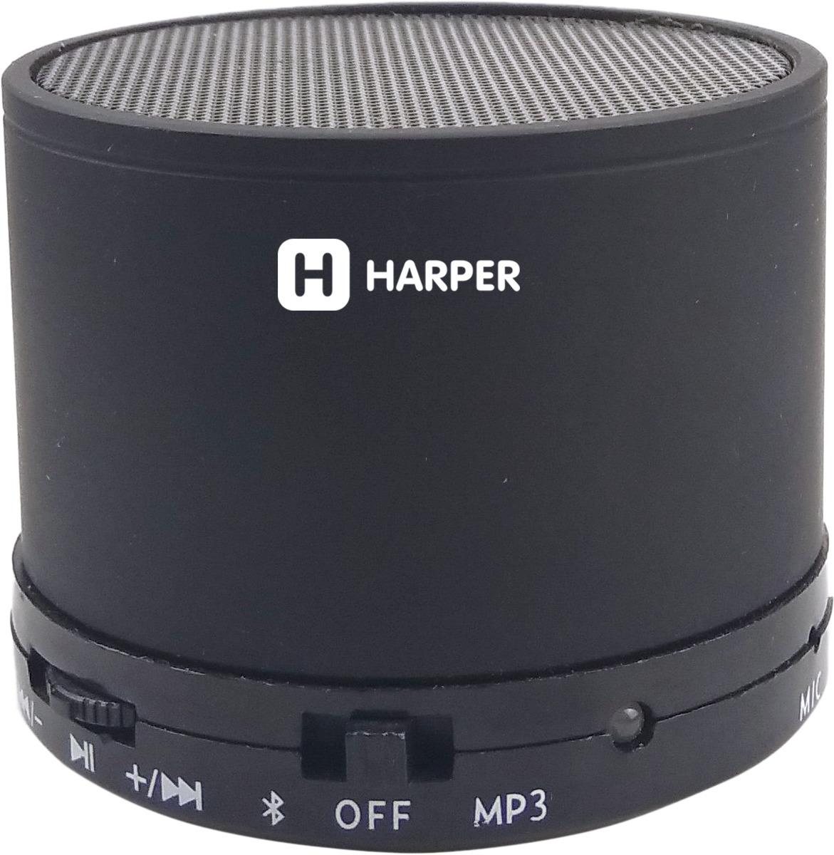 Беспроводная колонка Harper PS-012, Black