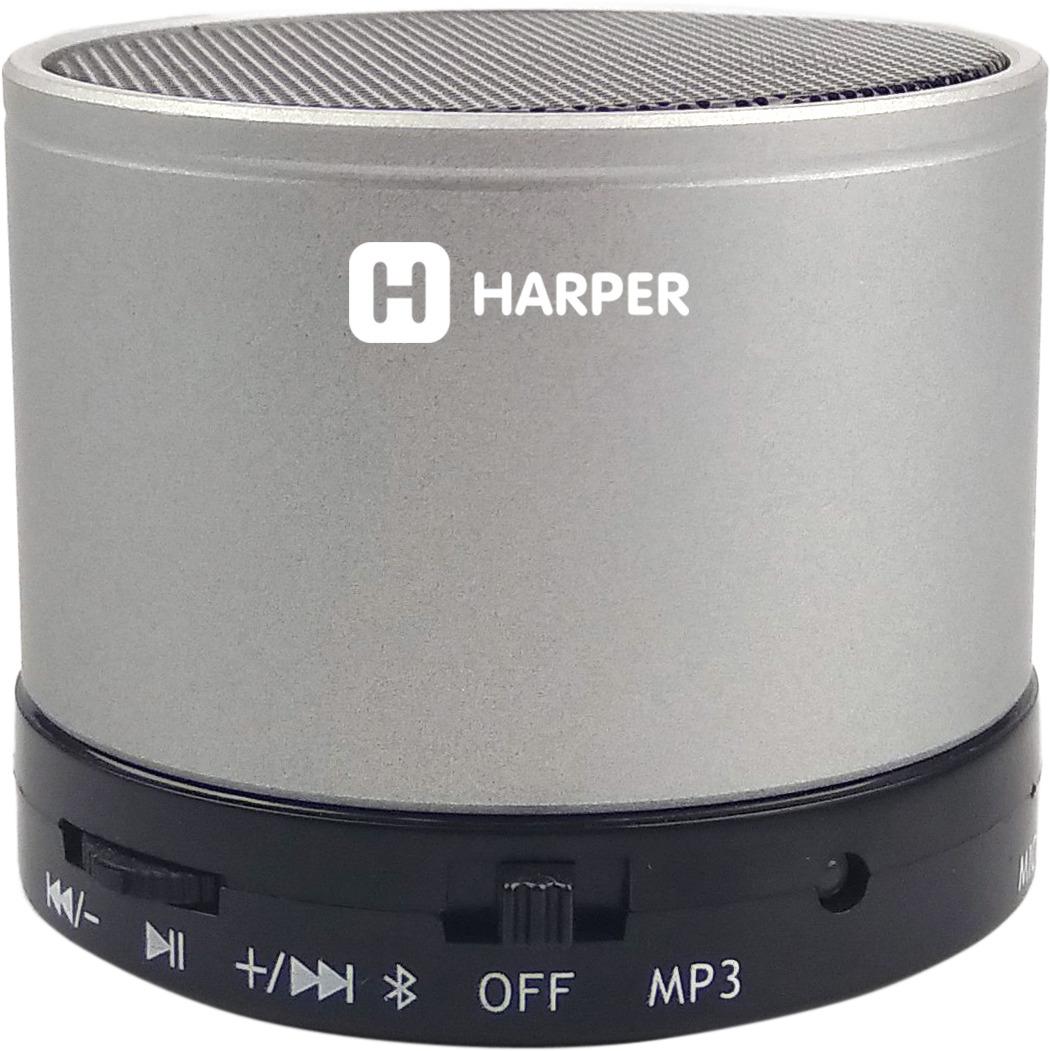 Беспроводная колонка Harper PS-012, Silver беспроводная колонка harper ps 012 silver