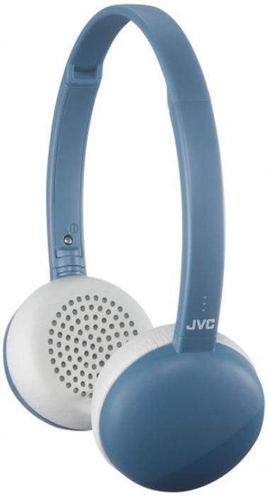 Фото - Наушники беспроводные JVC HA-S20BT-A-E, цвет: синий видео
