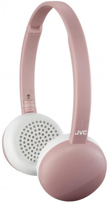 Фото - Наушники беспроводные JVC HA-S20BT-P-E, цвет: розовый видео