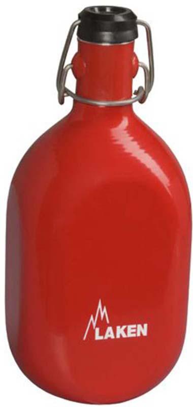 Фляга Laken Octogonal 93-R, цвет: красный, 1 л