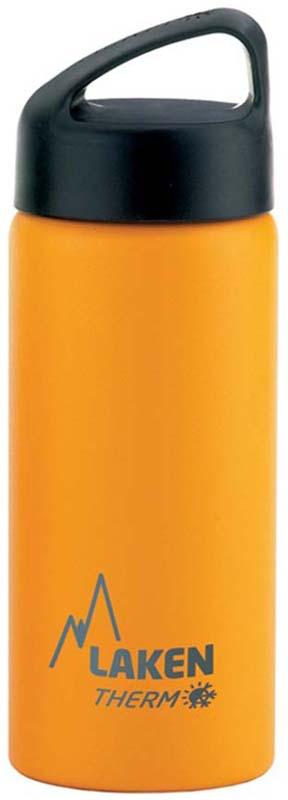 Фляга Laken Classic TA5Y, цвет: желтый, 500 мл