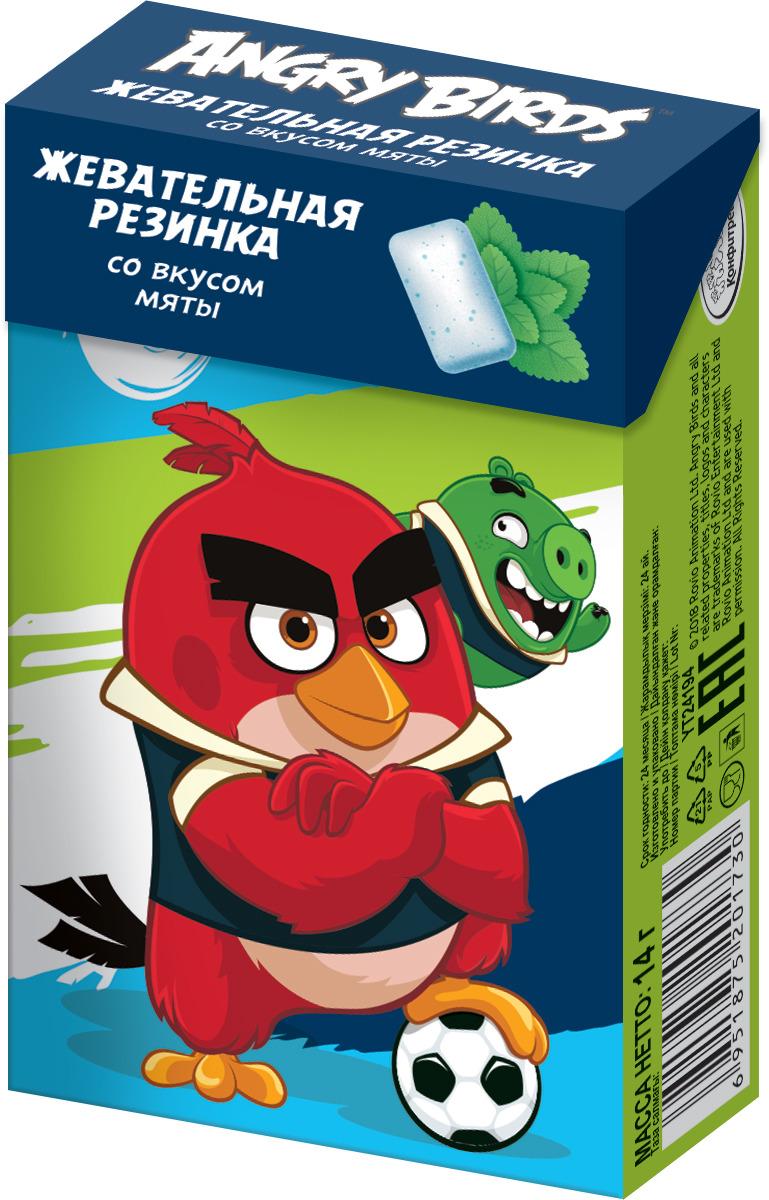 Жевательная резинка со вкусом мяты Конфитрейд Angry Birds Movie, 14 г цены онлайн
