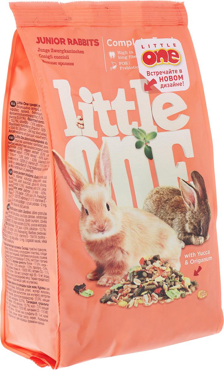 Корм для молодых кроликов Little One, 400 г корм для кроликов little one 900 г