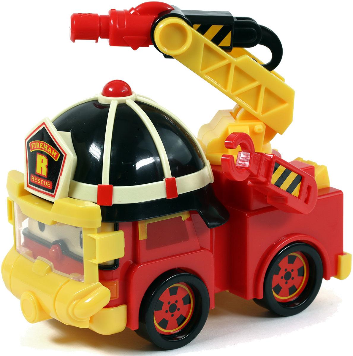 Игровой набор Robocar Poli Машинка Рой с аксессуарами robocar poli игровой набор перерабатывающая станция с фигуркой