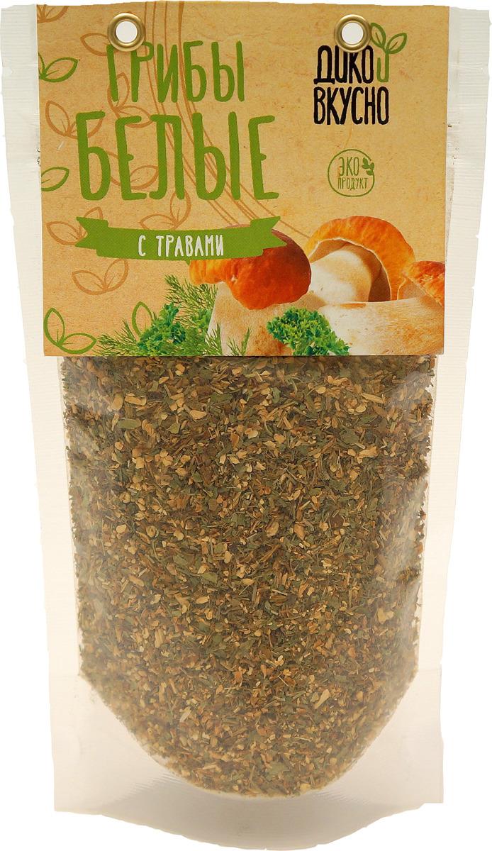 все цены на Дико Вкусно Грибы сушеные белые дробленые с травами, 50 г онлайн