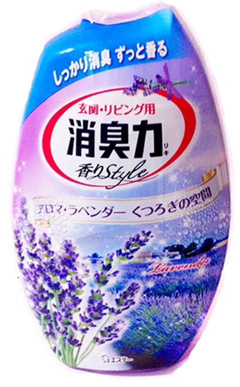 Ароматизатор для дома жидкий ST Shoushuuriki , с ароматом лаванды, 400 мл