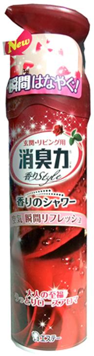 Спрей-освежитель воздуха для комнат ST Shoushuuriki , с ароматом роз, 280 мл
