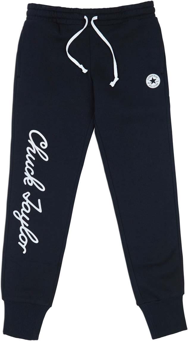Брюки спортивные Converse Chuck Taylor Signature Pant брюки женские converse sweater knit pant цвет черный 10007186001 размер s 44