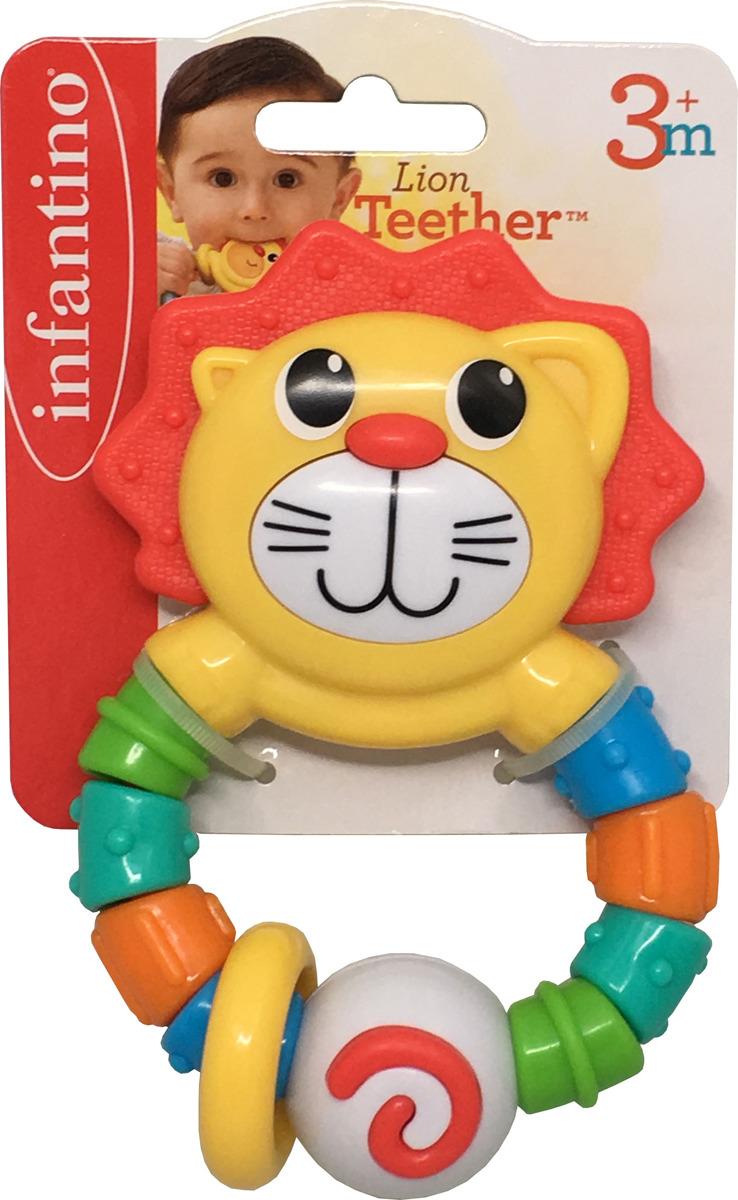 Погремушка Infantino Львенок мягкая игрушка infantino милый львенок