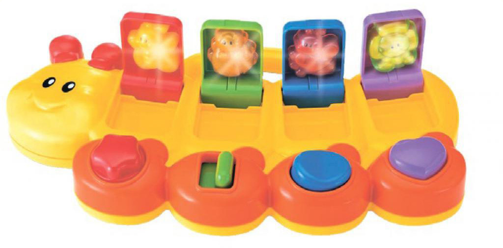 Развивающая игрушка B kids Смешная гусеница игрушка b kids телевизор 003805b