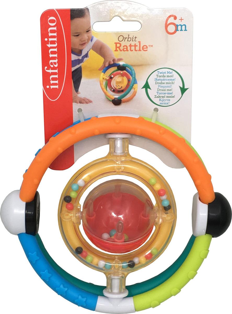 Погремушка Infantino Космическая орбита мягкая игрушка infantino милый львенок