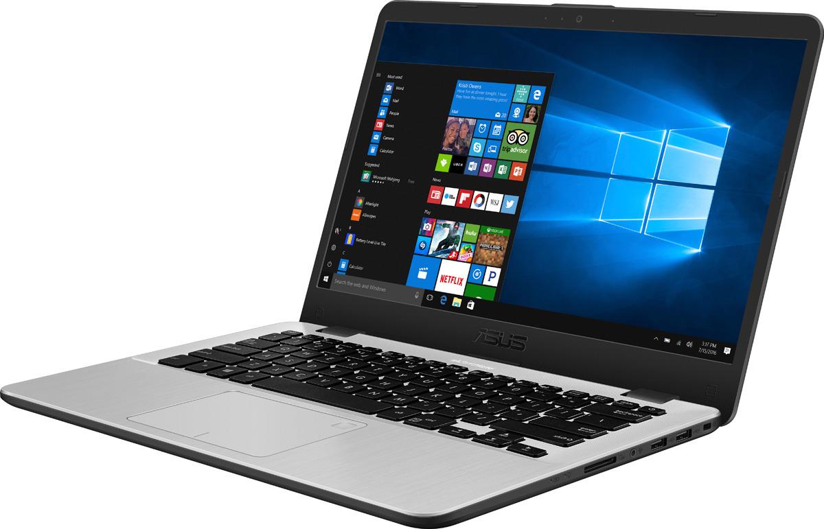14 Ноутбук ASUS Vivobook 14 X405UA 90NB0FA8-M13250, темно-серый x405ua eb920t