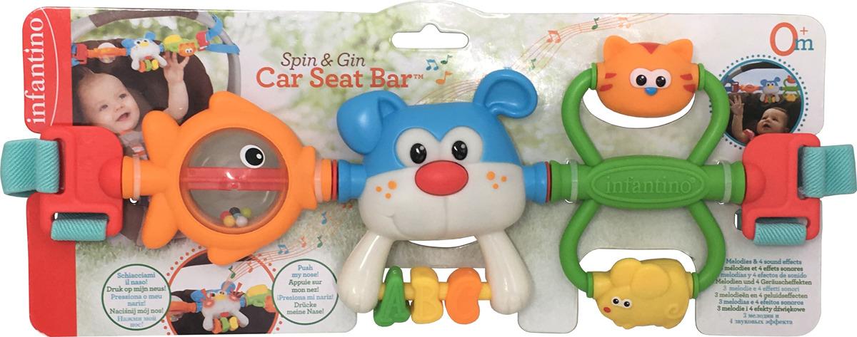 Игрушка-подвеска Infantino Крути и хватай, 216273 развивающая игрушка infantino единорог