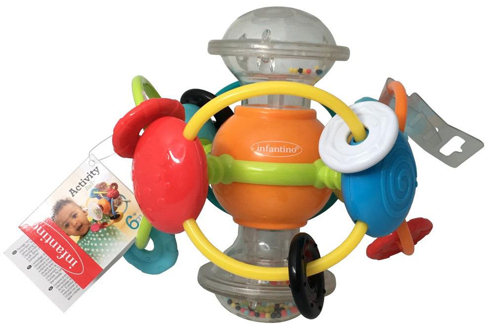 Развивающая игрушка Infantino Развивающий шар мягкая игрушка infantino милый львенок