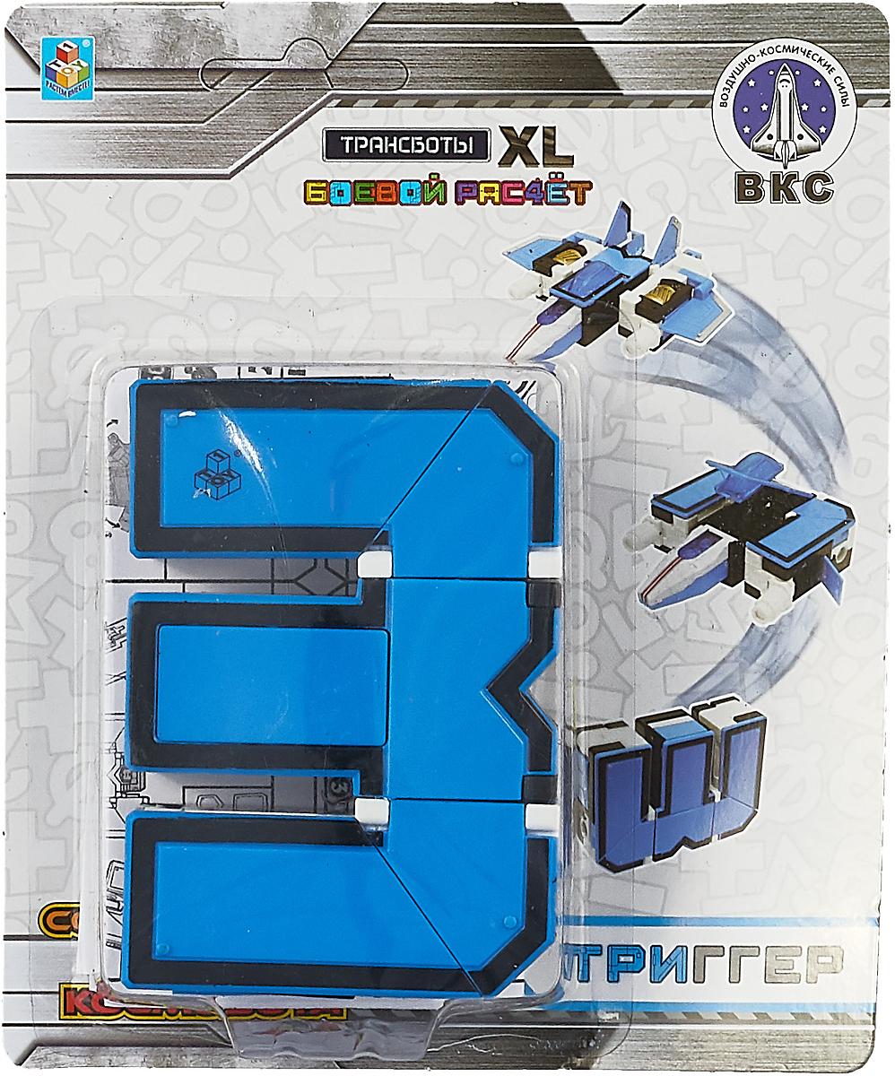 Фото - Трансформер 1TOY Боевой расчет ПВО. Трансботы XL, цвет: синий, цифра 3 canghpgin синий цвет номер xl