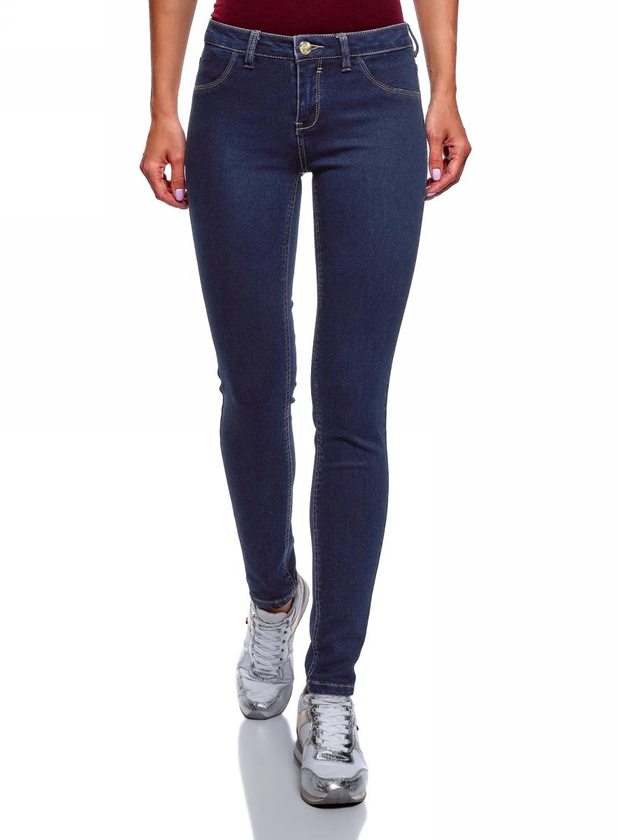 Фото - Джинсы oodji джинсы женские oodji denim цвет красный 12104059b 45491 4500n размер 27 32 44 32