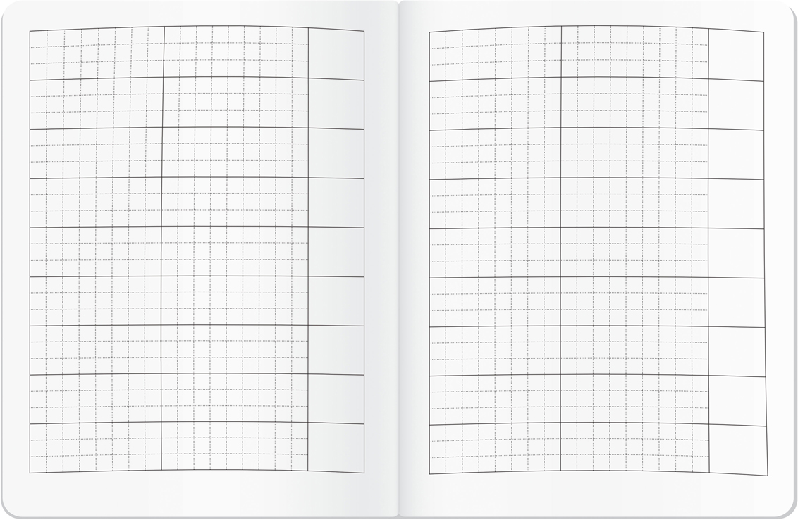 Тетрадь для записи иностранных слов.  Испанская фиеста + Плотная прочная обложка. Каждый лист расчерчен на три столбца...